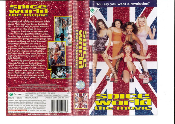 SPICE WORLD THE MOVIE (VHS)