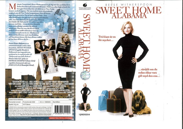 SWEET HOME ALABAMA (VHS)