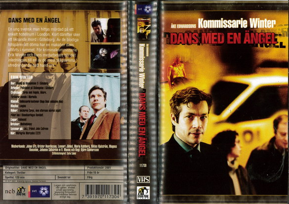 KOMMISARIE WINTER: DANS MEN EN ÄNGEL RAMBO - FIRST BLOOD 2 (VHS)