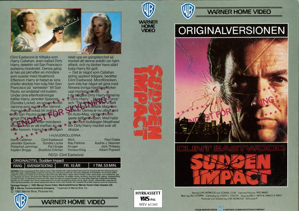SUDDEN IMPACT - ORGINALVERSIONEN