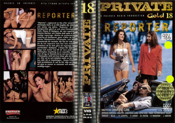 PRIVATE GOLD 18 REPORTER (VHS)