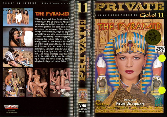 PRIVATE GOLD 11 THE PYRAMID (VHS)