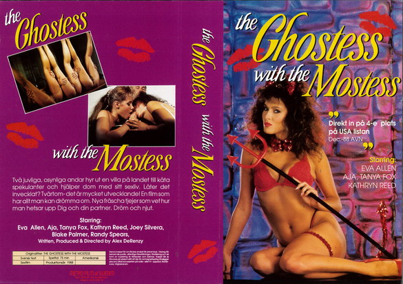 GHOSTESS WITH THE MOSTESS (vhs)