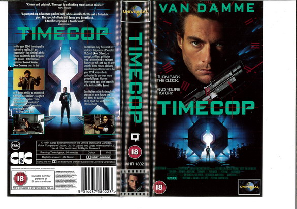 TIMECOP (VHS) UK
