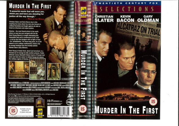 MURDER IN THE FIRST (VHS) UK