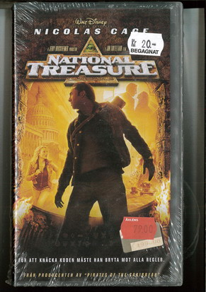NATIONAL TREASURE (VHS)