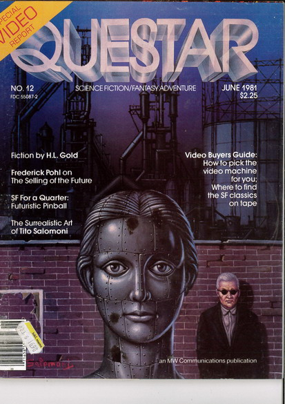 QUESTAR MAGAZINE ISSUE NO. 12 FROM JUNE 1981