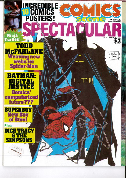 COMICS SCENE SPECTACULAR JULY 1990