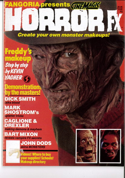 FANGORIA PRESENTS NR 1 HORROR FX