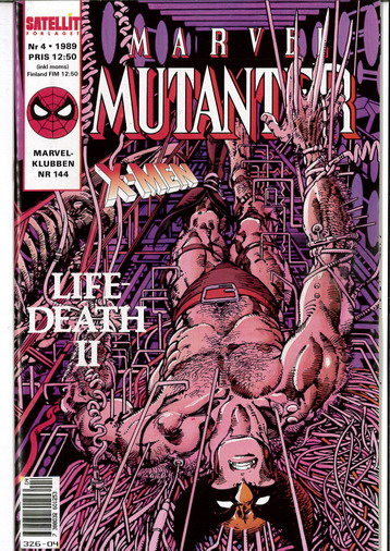 MARVEL MUTANTER 1989:4