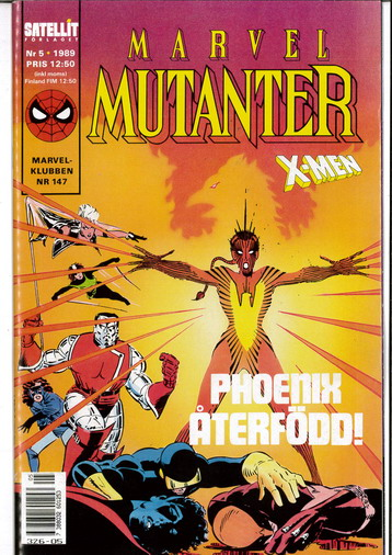 MARVEL MUTANTER 1989:5