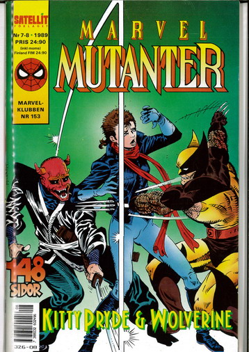 MARVEL MUTANTER 1989:7-8