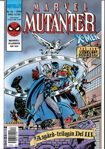 MARVEL MUTANTER 1989:10