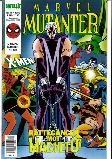 MARVEL MUTANTER 1989:11