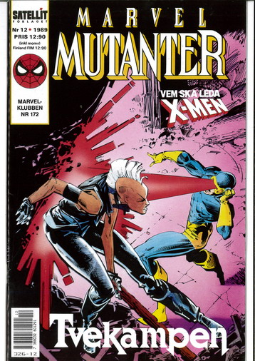 MARVEL MUTANTER 1989:12