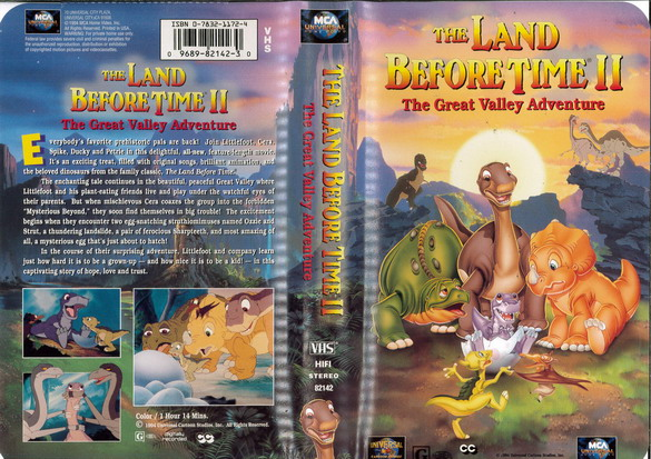 LAND BEFORE TIME 2  (VHS) (USA-IMPORT)
