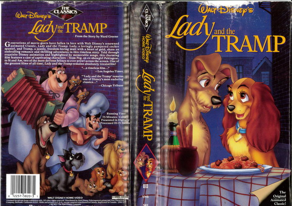 LADY AND THE TRAMP  (VHS) (USA-IMPORT)