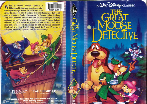 GREAT MOUSE DETECTIVE  (VHS) (USA-IMPORT)