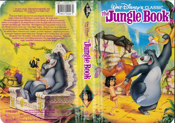 JUNGLE BOOK  (VHS) (USA-IMPORT)
