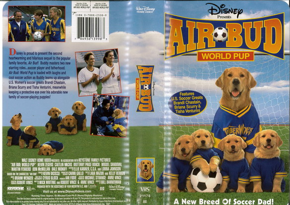 AIR BUD - WORLD CUP  (VHS) (USA-IMPORT)