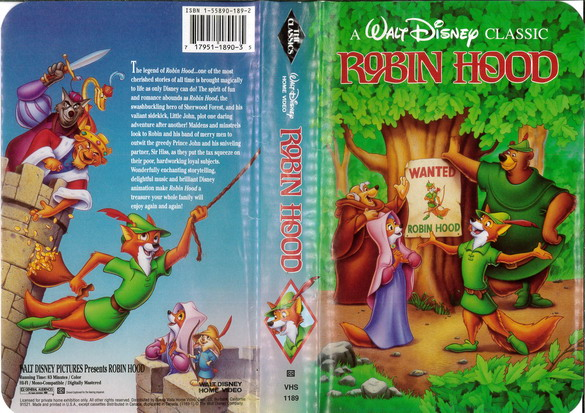 ROBIN HOOD   (VHS) (USA-IMPORT)