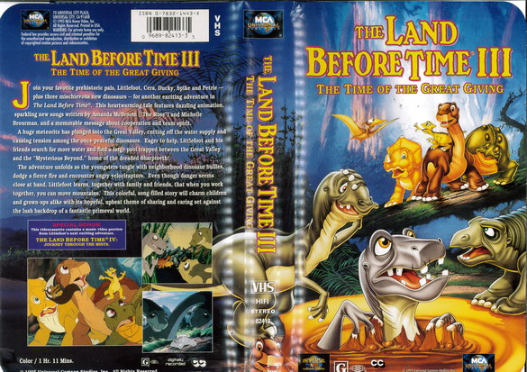 LAND BEFORE TIME 3 (VHS) (USA-IMPORT)
