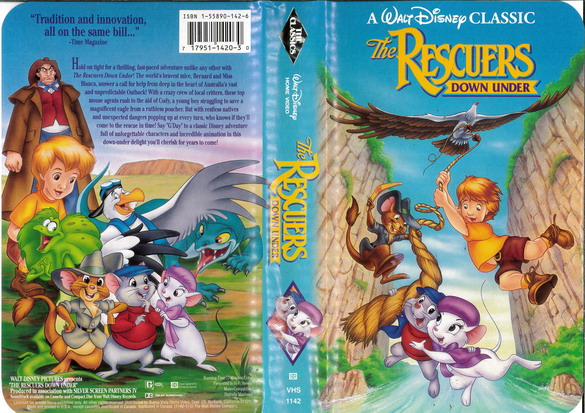 RESCUERS - DOWN UNDER  (VHS) (USA-IMPORT)