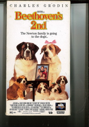 BEETHOVEN'S 2ND (VHS) USA