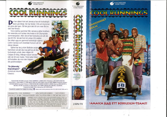 COOL RUNNINGS (VHS)