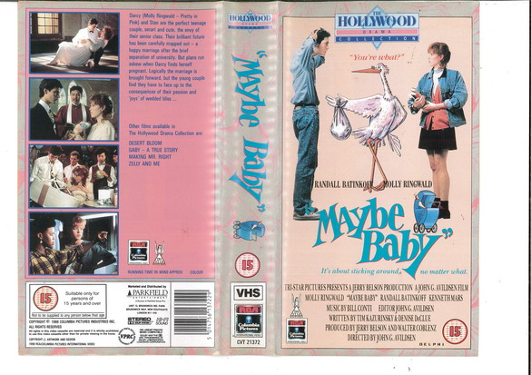 MAYBE BABY (VHS) UK