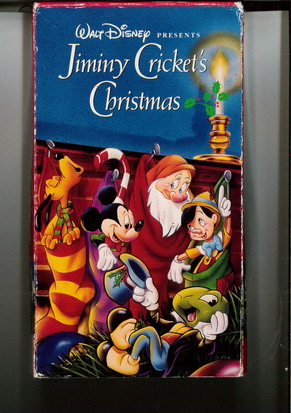 JIMINY CRICKET'S CHRISTMAS  (VHS)  USA