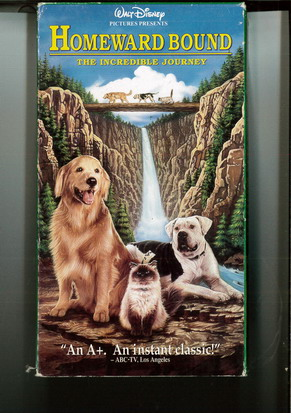 HOMEWARD BOUND (VHS)USA