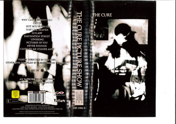 CURE - THE PICTURE SHOW (VHS)
