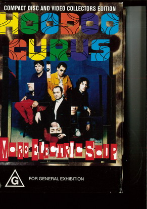HOODOO CURUS - MORE ELECTRIC SOUP (VHS) (CD)