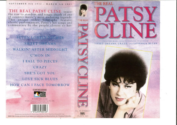 PATSY CAINE - THE REAL (VHS)