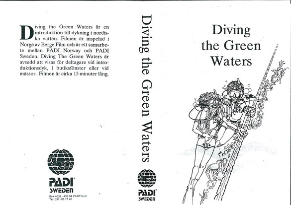 DIVING THE GREEN WATERS (VHS)
