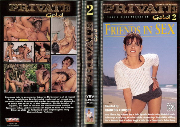 PRIVATE GOLD 02 FRIENDS IN SEX (VHS)
