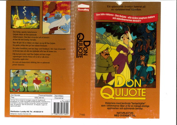 DON QUIJOTE (VHS)