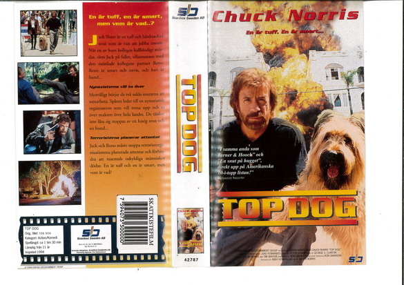 TOP DOG (VHS)