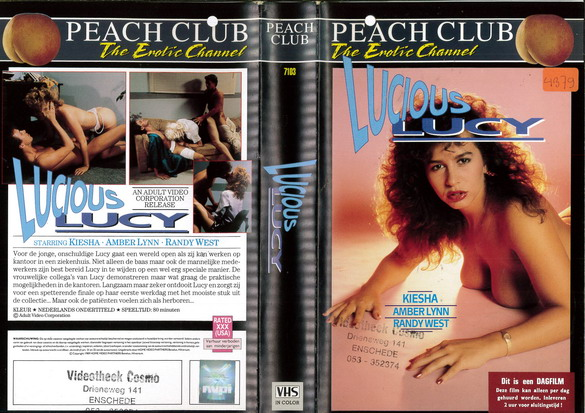 LUCIOUS LUCY (VHS) HOL
