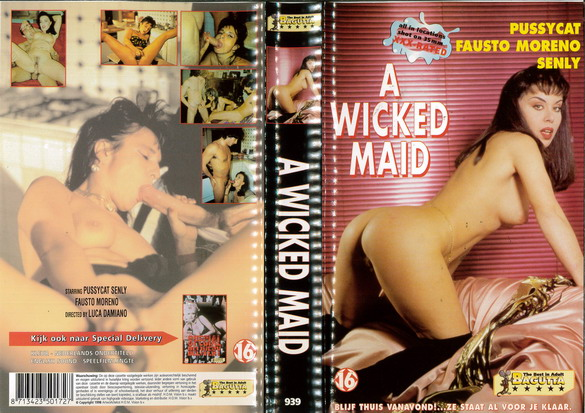 A WICKED MAID (VHS) HOL
