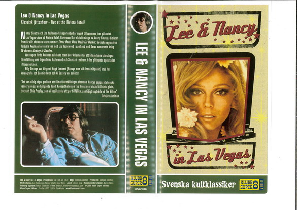 LEE & NANCY IN LAS VEGAS (VHS) NY