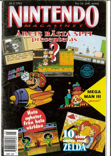 NINTENDO MAGASINET 1992: 5