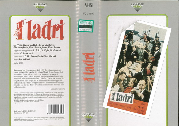 I LADRE (VHS) IT