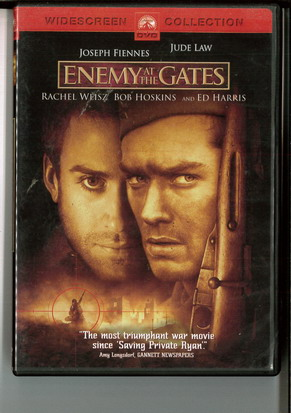 ENEMY AT THE GATES (BEG DVD) USA IMPORT