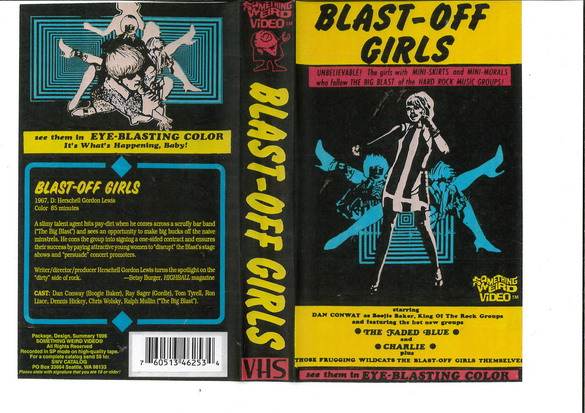BLAST-OFF GIRLS (VHS) USA