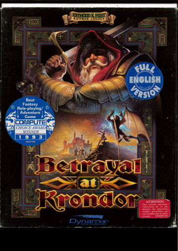 BETRAYAL AY KRONDOR (BEG PC)