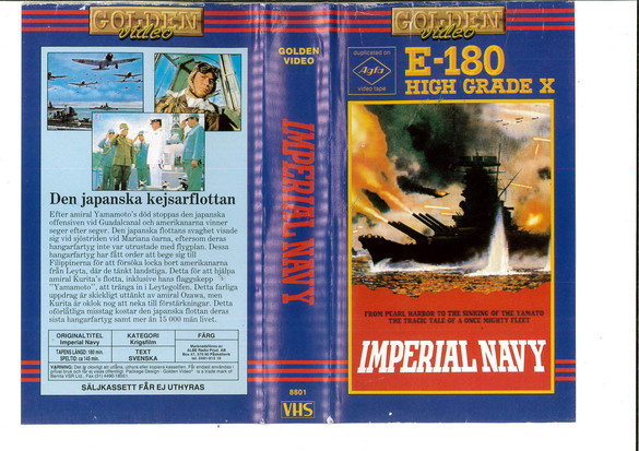 IMPERIAL NAVY (VHS)