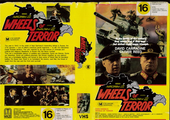 WHEELS OF TERROR (VHS) AUS