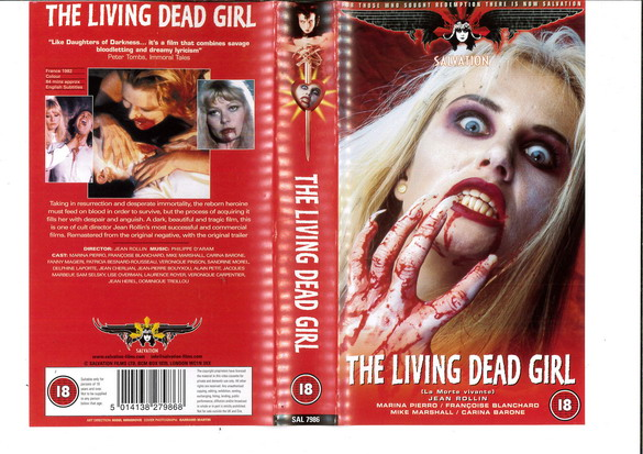 LIVING DEAD GIRL (VHS) UK